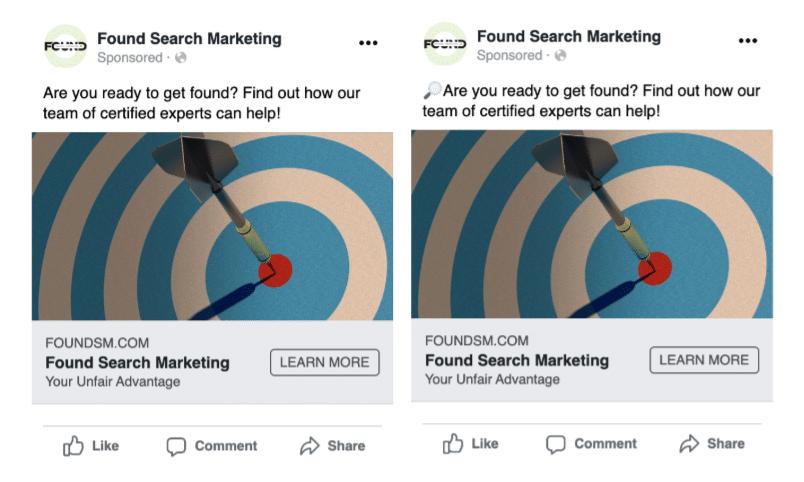 Comparing Facebook Ads